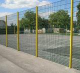Rete fissa saldata ricoperta PVC poco costosa della rete metallica, barriera di sicurezza
