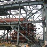 Atelier lourd à trois niveaux de structure métallique pour l'usage chimique