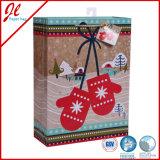Hot Stamping Felt Christmas Gift Bags Sacs en papier de Noël