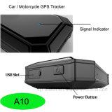 Gps-Motorrad/Auto-/Fahrzeug-Verfolger mit der großen Kapazität A10 der Batterie-5000mAh