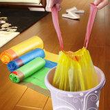 Дешевый пластичный мешок Drawstring отброса кухни