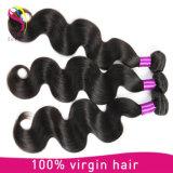 처리되지 않은 도매 인간적인 길쌈 머리 Virgin Remy 브라질 사람의 모발 연장