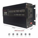 der Sonnenenergie-500W Inverter Inverter-China-des Hersteller-12V 24V mit Aufladeeinheit