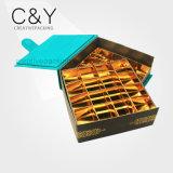 Оптовой коробка бумажного шоколада Faux обернутая замшей упаковывая