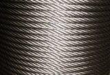 円形の繊維のUngalvanizedの鋼線ロープ6X19 A2のグリース