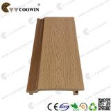 Revestimento de madeira exterior gravado composto da parede