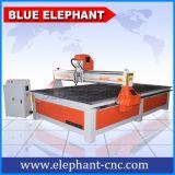 China Popular Grande Router CNC Máquina con Italia Hsd de husillo de refrigeración de aire para la venta