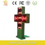 P16 옥외 이중 색깔 LED 약학 십자가 전시