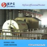 Abfall-Triebwerkanlage-Dampf-Turbine