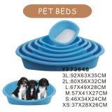 安い防水プラスチック犬のベッド(YF73648)