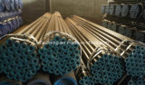 Tubo de ASTM, tubo de acero ASTM A106, línea tubo negra ASTM A106 GR B de carbón