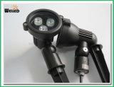 景色のフラッドライトのための3W庭LEDの点の照明DC12V