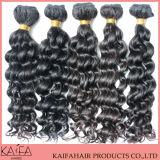 100% virgen sin transformar el cabello humano brasileño tejer (KF-B-098)