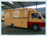 Voyager Cuisine Mobile avec 4 roues Van mobile