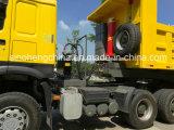 Preço baixo HOWO Semi-Trailer Caixa basculante Truck 40 Ton