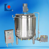 Calefacción eléctrica de acero inoxidable de alto cizallamiento de depósito mezclador