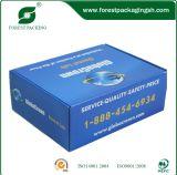 caja de cartón impresión off-set para gastos de envío