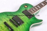 Green Burst Emg Pickups Lp Style Guitarra Elétrica (GLP-95)