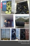Pneu 315/80r22.5 do caminhão da estrada do dobro do tipo da fábrica da alta qualidade