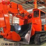 LHDの地下鉱山のトンネルの石炭の石のクローラー台無しにするローダー機械