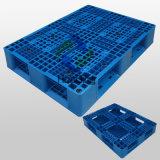 1100*810*155mm duplicou face paletes de plástico