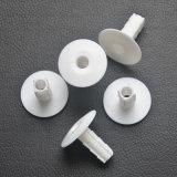 Câble blanc en plastique de la bague de mur pour câble coaxial RG8