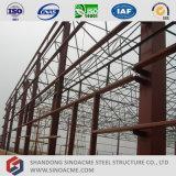 Sinoacme는 강철 구조물 공간 프레임 지붕 창고를 조립식으로 만들었다
