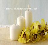 أبيض يستشفّ [هيغقوليتي] بيضاء عمود شمعة