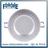 заводская цена за круглым столом с регулируемой яркостью встраиваемый светодиодный затенения 15W
