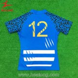 Camisa nova do rugby do Sublimation da tintura do estilo