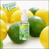 Фабрика OEM низкой цены высокого качества никакие E-Сок жидкости кальяна 30ml e флейвора лимонада никотина