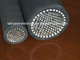 tubo flessibile di ceramica del rivestimento di 600mm con le flange