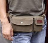 Retro Sport die van Mens van de Manier Fanny Pack Waist Belt Bag in werking stellen
