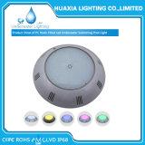 LED DE 12V bajo el agua de la luz de la piscina con dos años de garantía