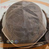 ブラジルの毛の完全なレースの黒人男性のToupee (PPG-l-00941)