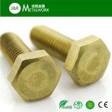 Boulon Hex en laiton de plein amorçage (DIN933)