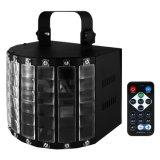 IP20 9 Cores LED Refletor Efeito Estágio Luz Discoteca