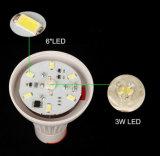 Populares de Li-ion recargable 18650 LED de batería de la luz de camping