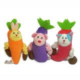 최신 판매 판매를 위한 대중적인 견면 벨벳 애완 동물 장난감