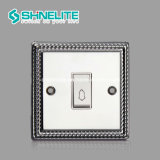 Supplier 직업적인 2 Gang 1way Electric Wall Switch OEM