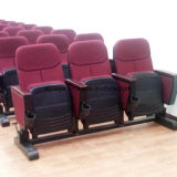 홀 교회 의자 Yj1003r를 접히는 빨간 덮개