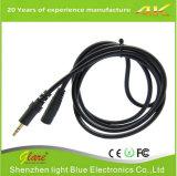 Позолоченный OFC для женщин, мужчин 3,5 мм удлинительный кабель AV