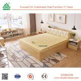Het moderne MDF van China Foshan Maleisië Houten Vouwbed van het Triplex van het Meubilair van de Slaapkamer Vastgestelde Houten