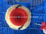 Tiger-Haut Striped europäische Trommel-Plastikgriff-Chrom-Platte
