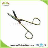 Tesouras médicas da atadura da gaze dos primeiros socorros de aço inoxidável
