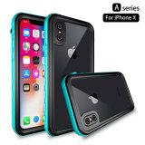 Caixa impermeável IP68 Dirtproof Antichoque Snowproof Caso Telefone Protetora para iPhone X / iPhone 10