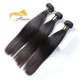 ブロンドの人間の毛髪の織り方の未加工バージンのインドの毛の拡張