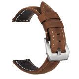 高品質のSamsungギヤS3 22mmのための革時計バンドストラップ