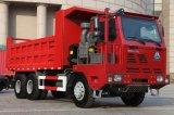 Carro de vaciado de la explotación minera de la tonelada 371HP de HOWO 6X4 30 con LHD