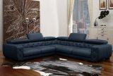Sofà moderno di figura del tessuto U per il salone (F832)